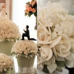 Bolos Floridos para o Casamento