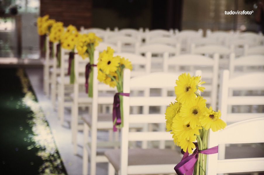 Decoração de Casamento Amarela  Internovias