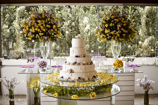decoracao branca e verde para casamento:casamento-decoracao-branco