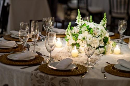 decoracao branco casamento