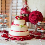 Decoração de Casamento Vermelha