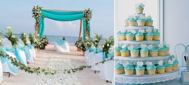 decoracao casamento azul turquesa e amarelo : decoracao casamento azul turquesa e amarelo:Decoracao-Azul-Turquesa3.jpg