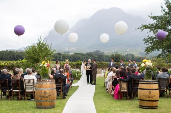 Utilizando Balões no Casamento