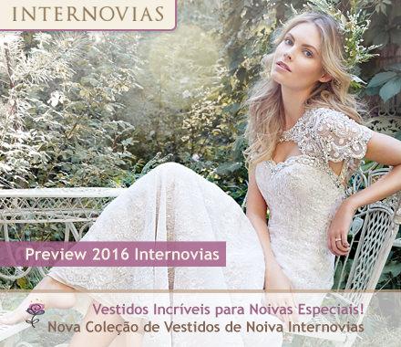 Lançamento Preview 2016 de Vestidos de Noiva