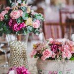 Inspirações para arranjos florais de casamentos