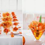 A alegria das cores do casamento: Amarelo e Laranja