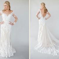 Vestido de Noiva // in-a716n