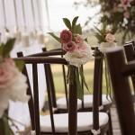 Ideias para decorar as cadeiras do casamento