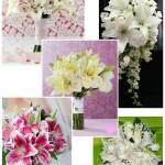 Buquês de flores naturais