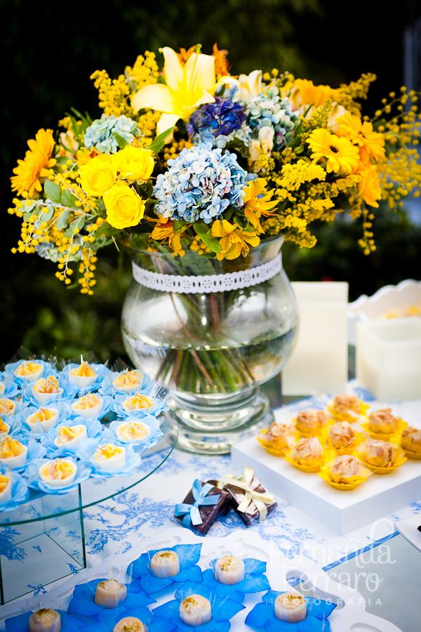 Decoraç u00e3o de Casamento Azul Internovias