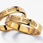 Inspirações de Alianças para Casamento