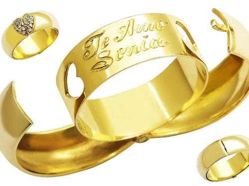 efc6e79a96a Inspirações de Alianças para casamentos