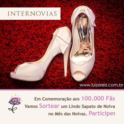 Sorteio de um lindo Par de Sapatos de Noiva