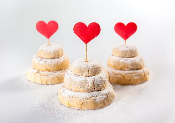 Mini Bolos de Cookies para Casamento