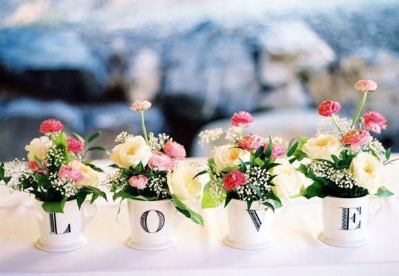 Arranjos de Flores para Casamentos