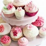 Torres de Cupcakes no seu Casamento