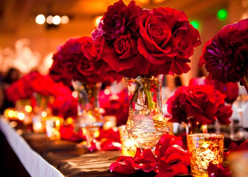Decorações de Natal para o Casamento