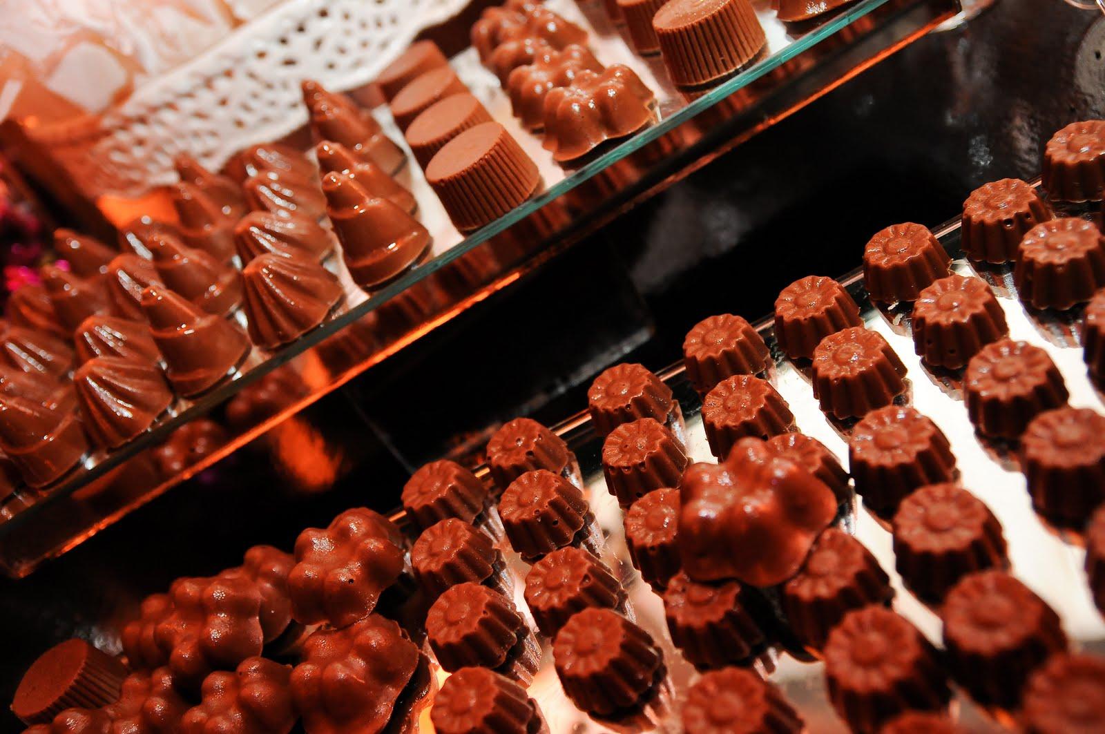 O Chocolate no Casamento
