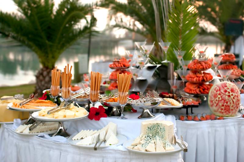 buffets de casamento