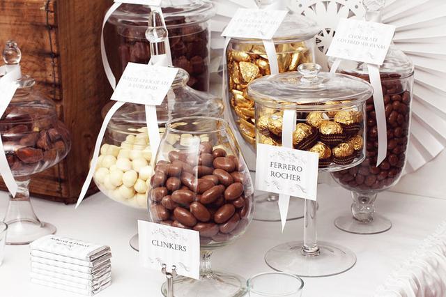 Os Deliciosos Chocolates no Casamento