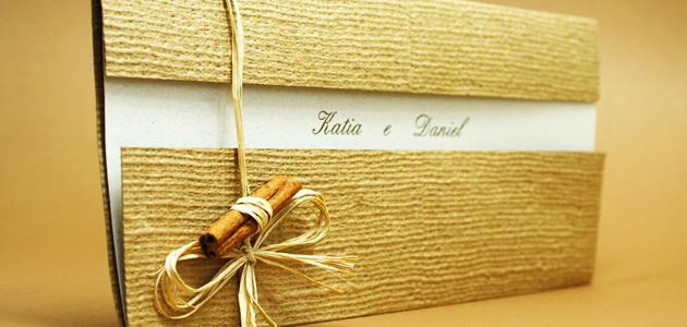 Convites de Casamento Cheios de Estilo