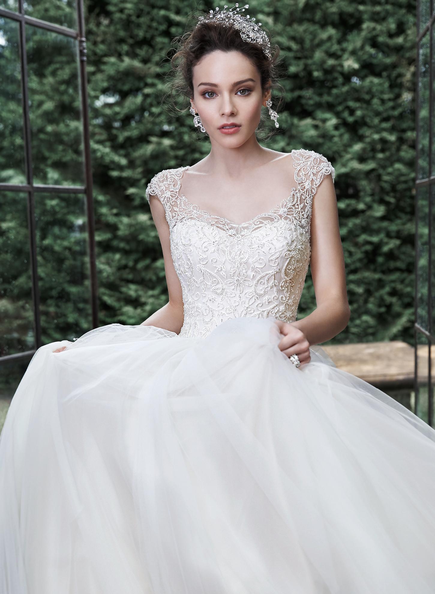 Tendencias de Vestidos de Noiva Estilo Princesa 2016