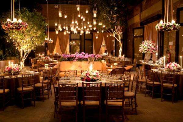 Ambiente Clássico e Original no Casamento