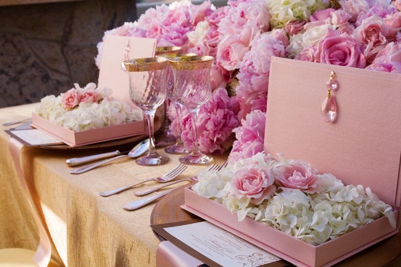 Decoraç u00e3o Rosa para o Casamento Internovias -> Decoração De Casamento Na Igreja Rosa E Branco
