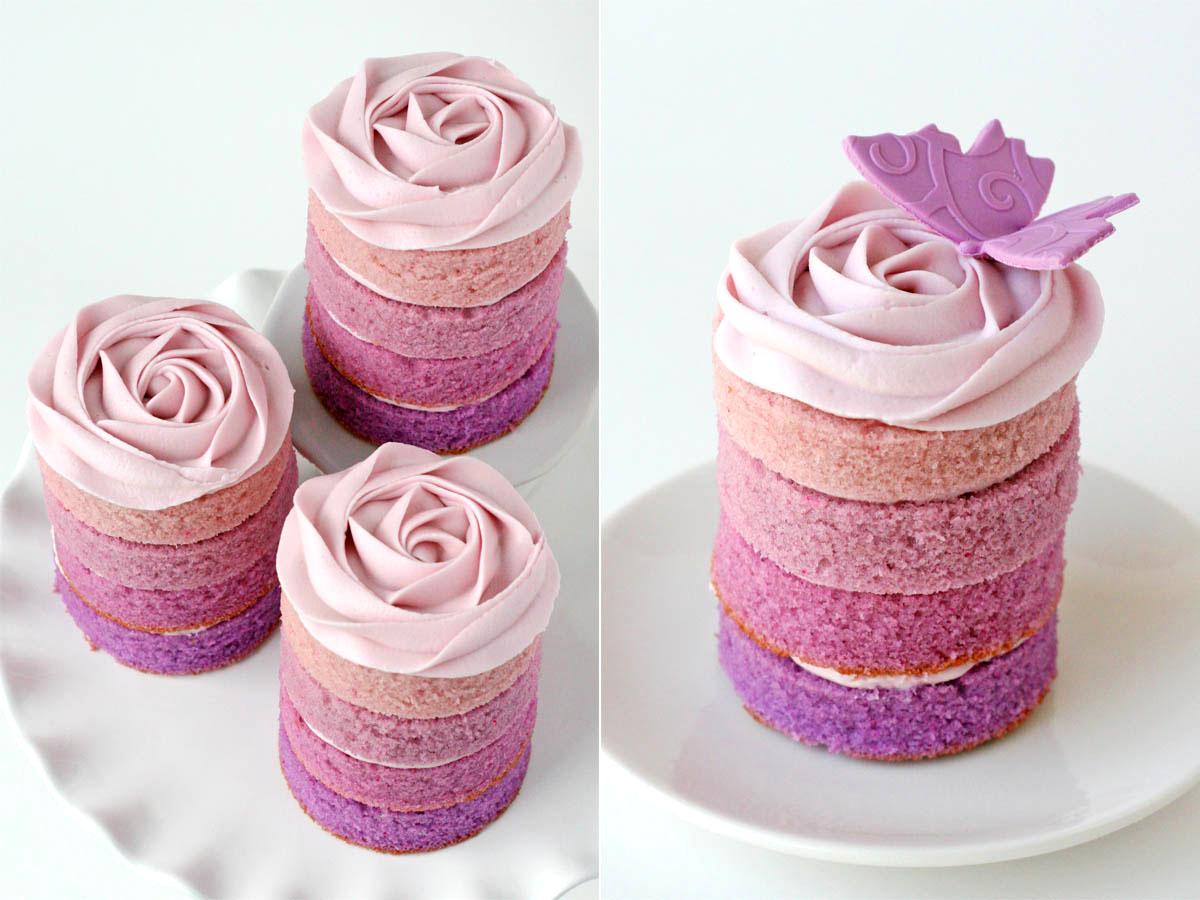 Mini Cakes para o Casamento