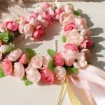 Coração de Flores na Decoração do Casamento