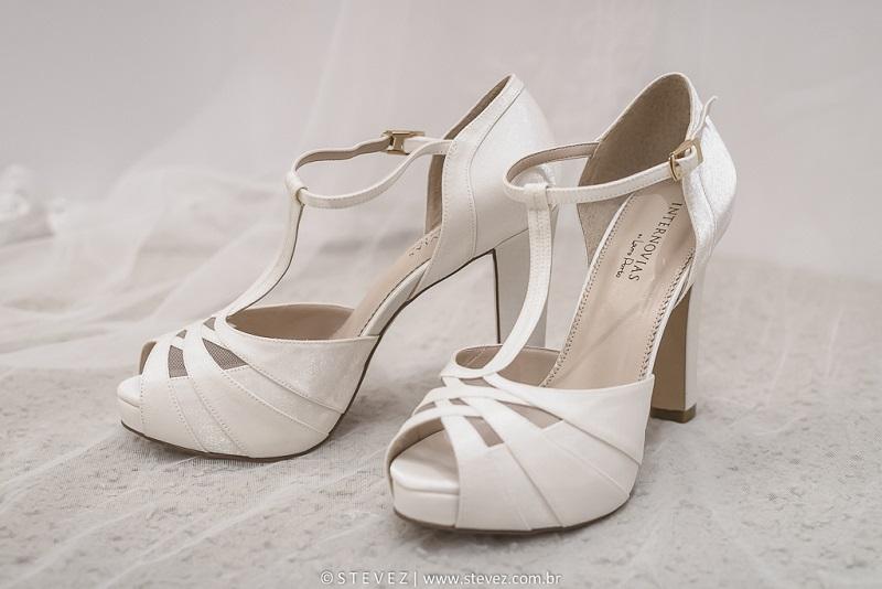 Sapatos para noivas Internovias