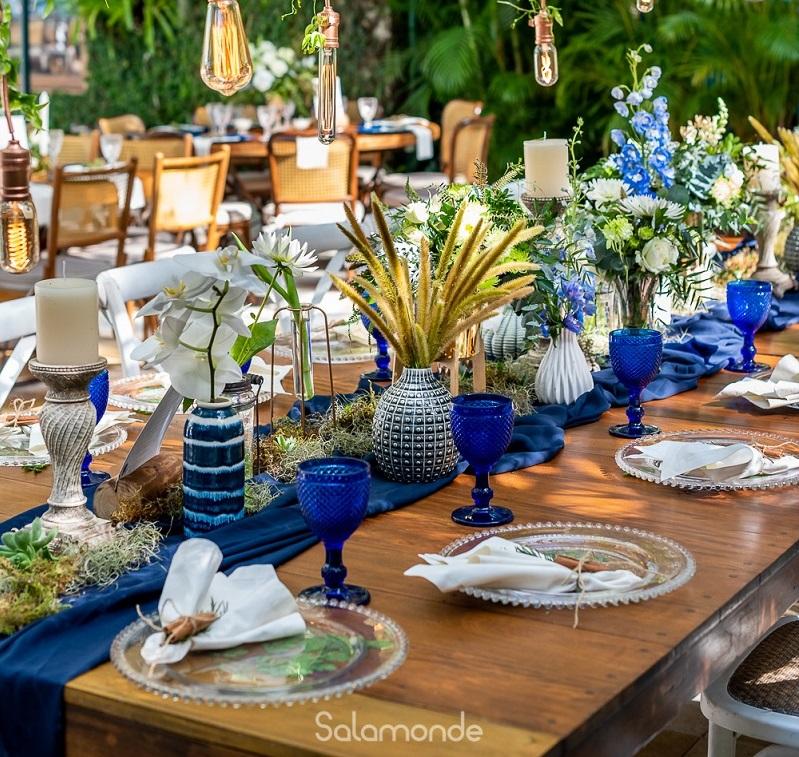 Inspirações de arranjos florais para o casamento