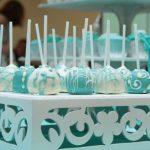 Decoração de casamento verde água