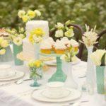 Decoração de Casamento Verde e Amarelo