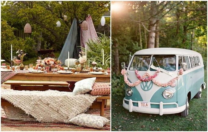 Inspirações para Casamento Estilo Hippie Chique