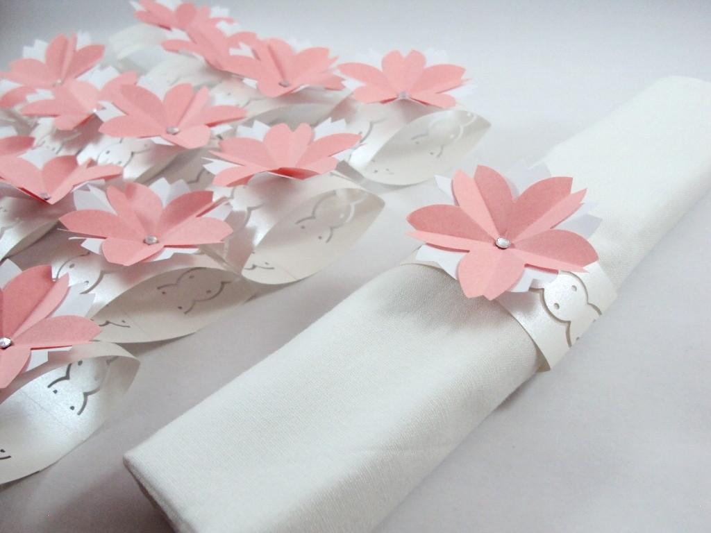 Origami na Decoração do Casamento