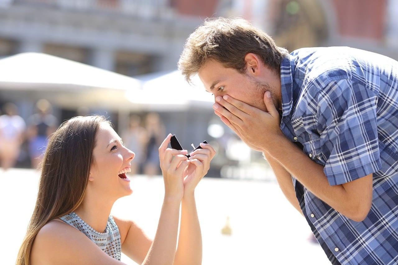 Como pedir meu namorado em casamento?