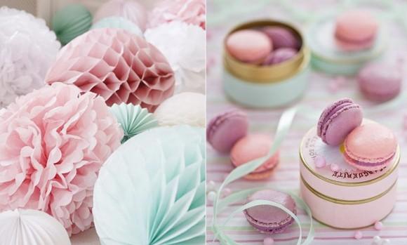 Decoração de Casamento em Tons Pastel