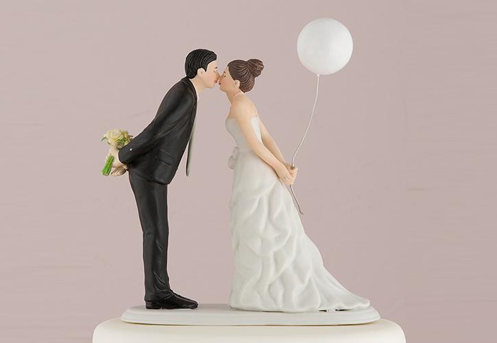 Topos de bolo criativos para casamento