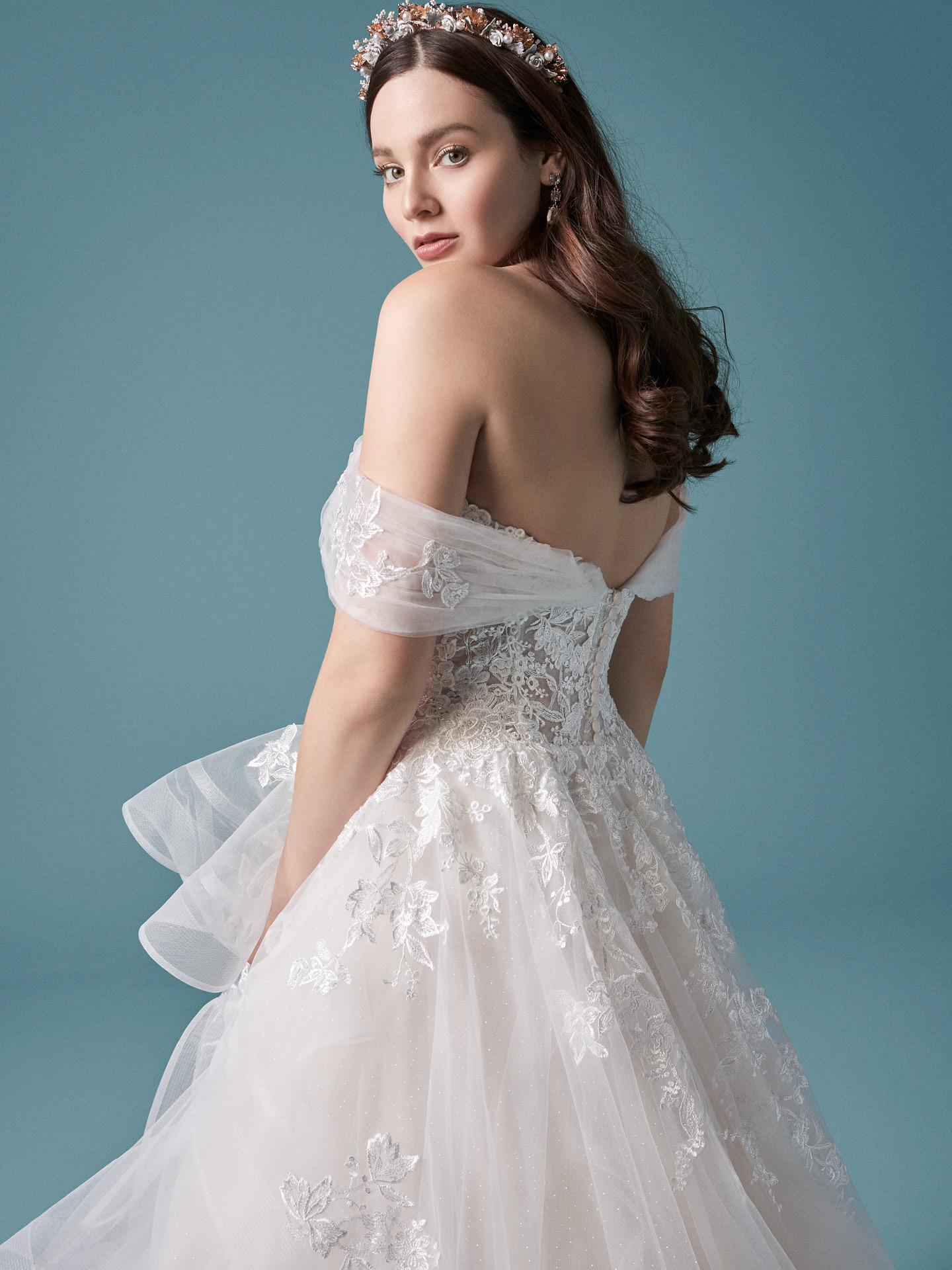 35 modelos de vestido de noiva romântico para se apaixonar