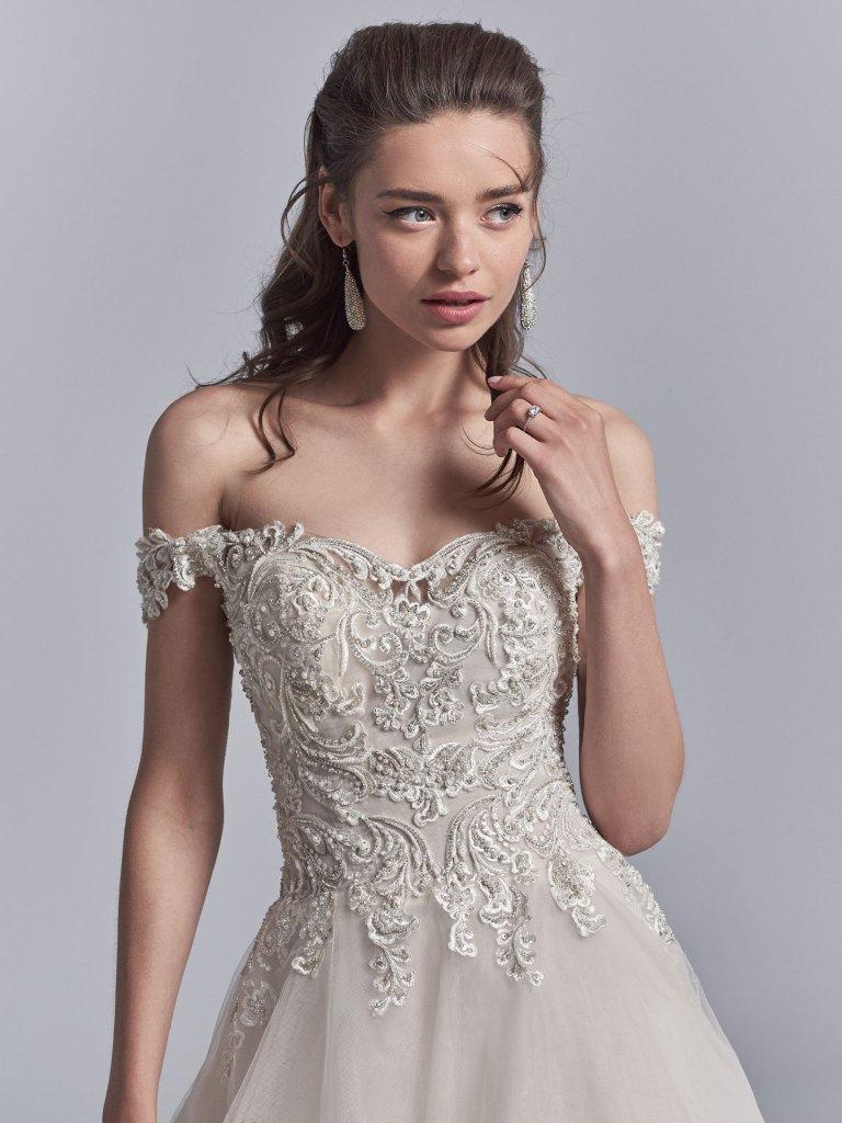 a35b9e3530 Vestidos de noiva princesa tendências 2019 - Internovias