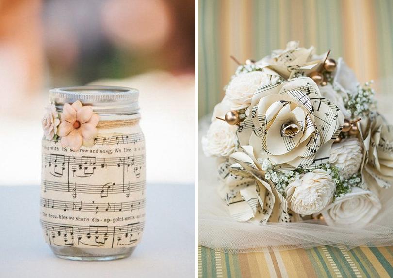 Decoração de Casamento Musical