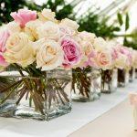 Muitas Flores na Decoração do Casamento