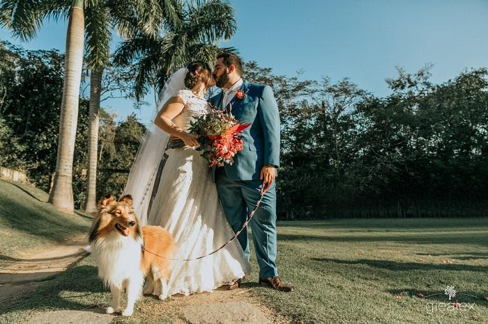 Casamento no Campo de Dia | Noiva Internovias Laís