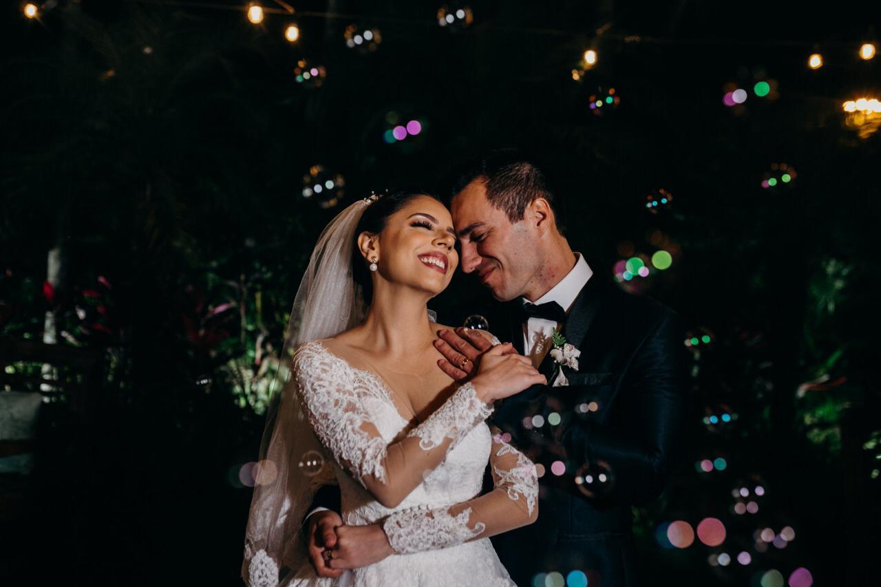 Casamento Rústico Chique a Noite | Noiva Internovias Bruna
