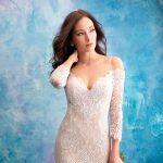 Vestidos de noiva sereia com manga
