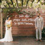 Mini Wedding Rústico | Noiva Internovias Heloisa