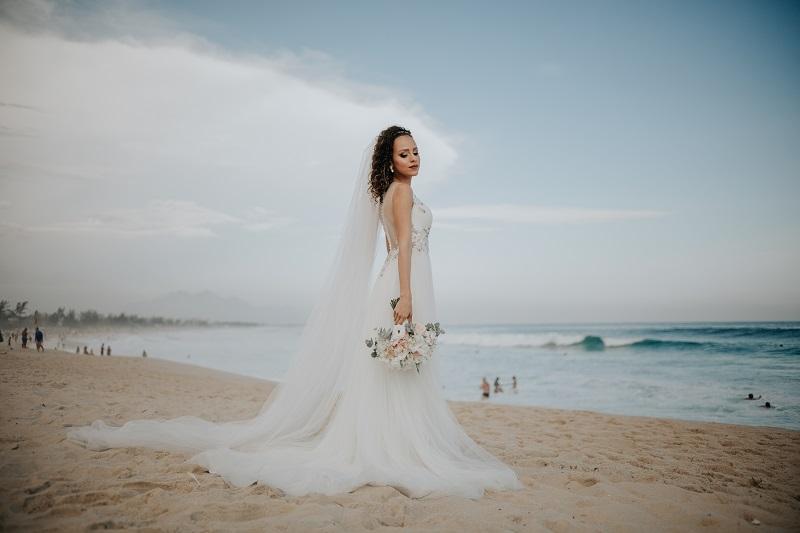 Casamento na Praia | Noiva Internovias Daniela