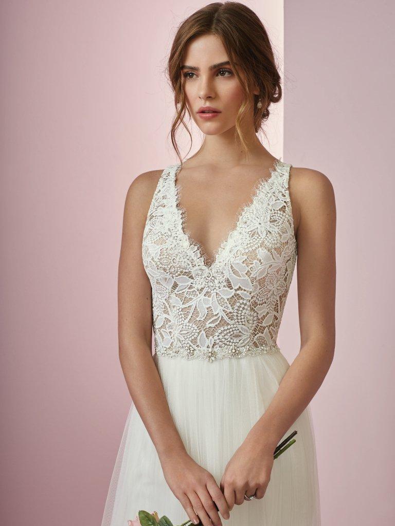 545cd7d0f9 Vestidos de noiva para casamento rústico de dia - Internovias