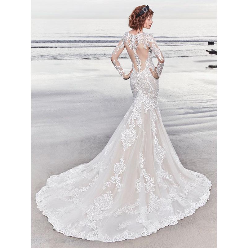 As mais lindas caudas de vestidos de noiva